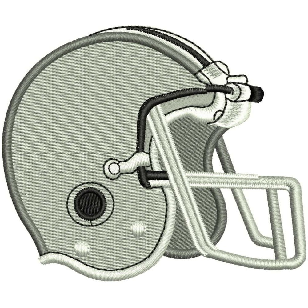 Sp001 Football Embroidery Design